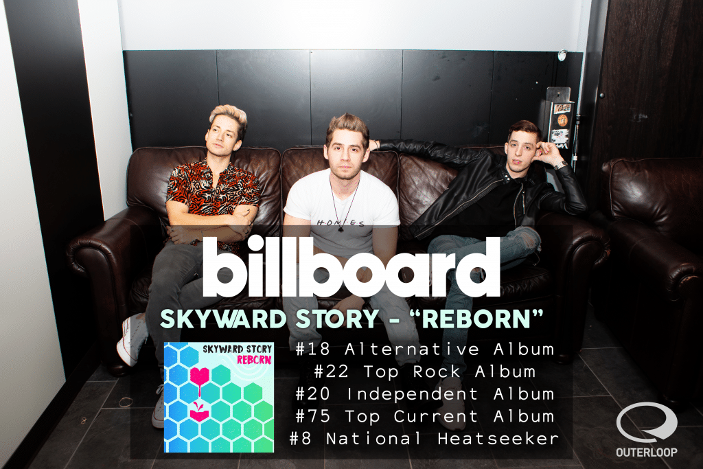 Skyward Story's 'Reborn' hits the Billboard Charts!